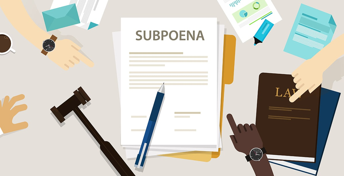The Humble Subpoena